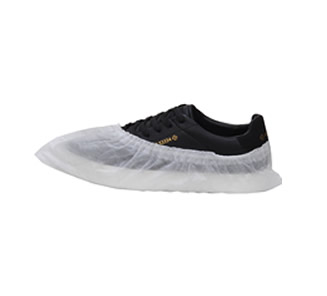 Nonwoven shoe covers